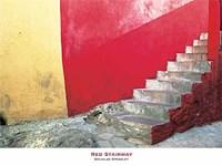 Red Stairway Fine-Art Print