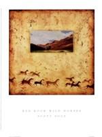 Red Rock Wild Horses Fine-Art Print