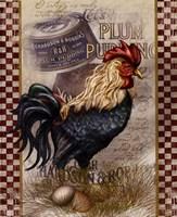 True Blue Rooster Fine-Art Print