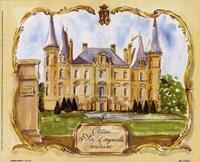Chateau Pichon Fine-Art Print