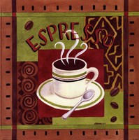 Cafe Exotica I Fine-Art Print