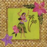 Tiki Girl I Fine-Art Print
