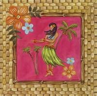 Tiki Girl IV Fine-Art Print