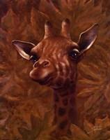 Safari Giraffe Fine-Art Print