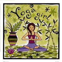 Yoga Girl Fine-Art Print