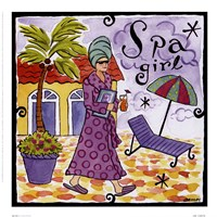 Spa Girl Fine-Art Print