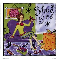 Shoe Girl Fine-Art Print