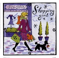 Shopping Girl Fine-Art Print