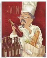 Wine Chef I Fine-Art Print