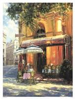 Cafe Tente de Verre Fine-Art Print