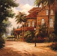 Hacienda de Santiago Fine-Art Print