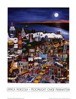 Moonlight Over Manhattan Fine-Art Print