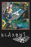 Klaxons Myth Ii Wall Poster