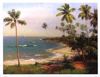 Tropical Coastline Fine-Art Print