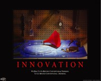 Innovation - Beer Bong Wall Poster