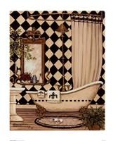 Elegant Bath I Fine-Art Print