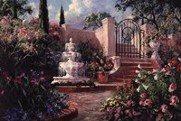 Fountain Garden Fine-Art Print