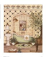 Elegant Bath III Fine-Art Print