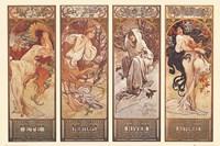 4 Seasons Wall Poster