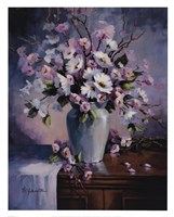 Apple And Cherry Blossoms Fine-Art Print