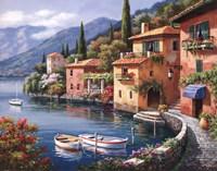 Villagio Dal Lago Fine-Art Print