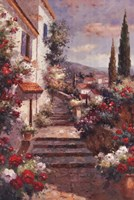 Stairstep Bouquets Fine-Art Print
