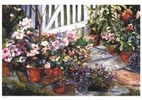 Garden Walk Fine-Art Print