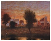 Midwest Farm Pond Fine-Art Print