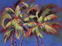 5 Crazy Palms Fine-Art Print