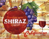 Californian Shiraz Reserve Fine-Art Print