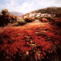 Village Poppies Fine-Art Print