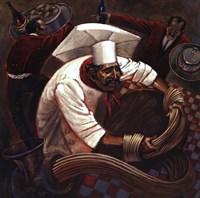 Chefs in Motion III Fine-Art Print