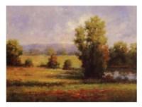 Red Meadow I Fine-Art Print
