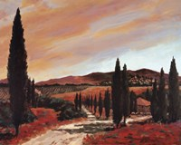 Tuscan Sunset II Fine-Art Print