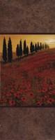 Poppy Field Panel II Fine-Art Print
