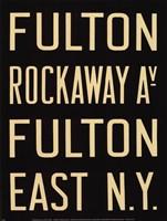 Fulton/Rockaway Fine-Art Print