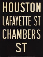 Houston/Lafayette Fine-Art Print