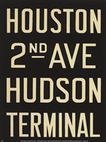 Houston/Hudson Terminal Fine-Art Print