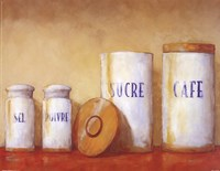 Kitchen Canisters Fine-Art Print