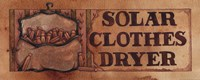 Solar Clothes Dryer Fine-Art Print