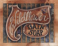 Wildflower Bath Soap Fine-Art Print