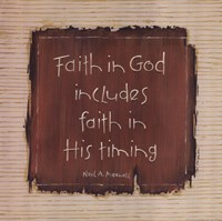 Faith In God Fine-Art Print
