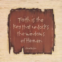 Faith Is The Key Fine-Art Print