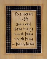 To Three Things Fine-Art Print