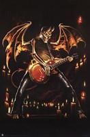 Guitar Hero Wall Poster