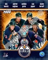 2008-09 Edmonton Oilers Team Composite Fine-Art Print