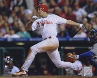 Pat Burrell 2008 NLCS Game 1 Home Run Fine-Art Print