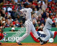 B.J. Upton 2008 ALCS Game 3 Home Run Fine-Art Print