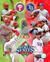 2008 World Series Match Up Compostie Fine-Art Print