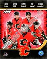 2008-09 Calgary Flames Team Composite Fine-Art Print
